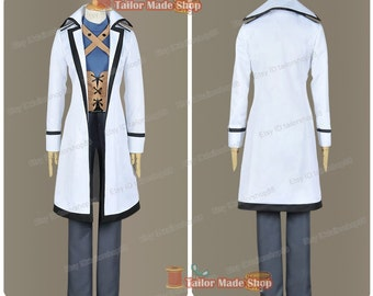 Fairy tail Gray cosplay costume White