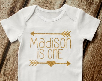 First Birthday, Personalized First Birthday Shirt, Glitter Shirt, Monogramed, 1st Birthday, Birthday Shirt, Tutu