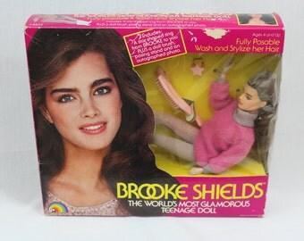 Vintage Brooke Shields 1980s World's Most Glamorus Teenage Doll