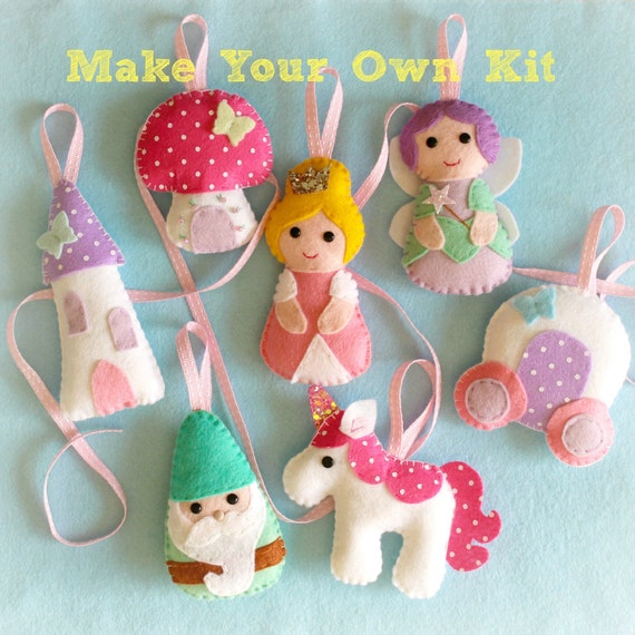Make Your Own Felt Fairytale Collection Kit By