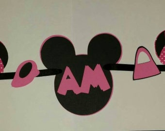 Minnie Mouse. I am 1 banner.