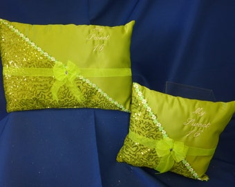 Custom made Quinceanera or Sweet Sixteen ceremony pillows
