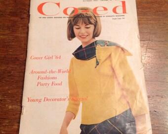Co-ed magazine October 1964