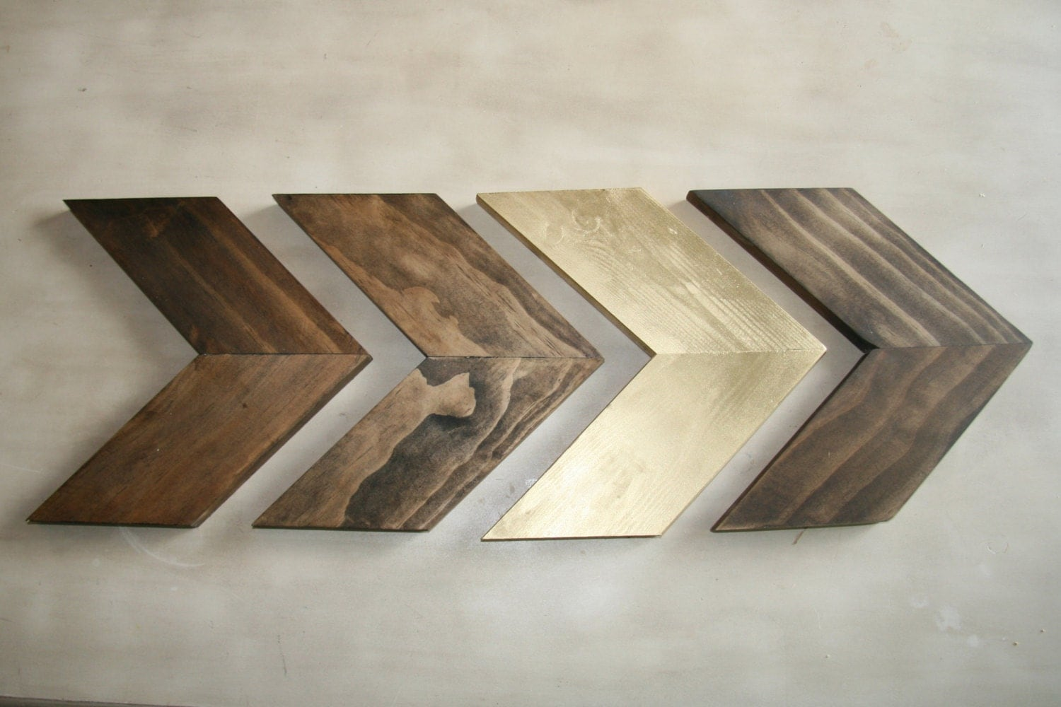 Wall Decor Wooden Arrows : Wood chevron arrows arrow wall art home decor