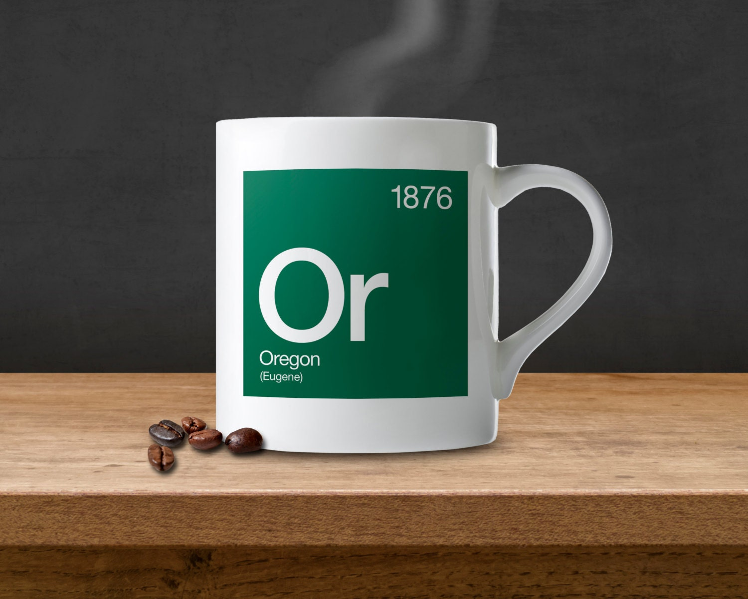 Oregon Periodic Table Coffee Mug