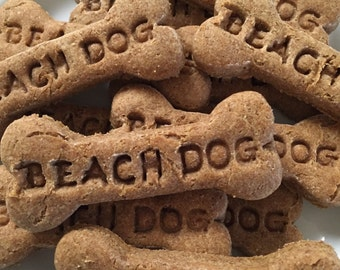 Signature Beach Dog Bakery Large Dog Bone Treats - Peanut Butter Crunchy