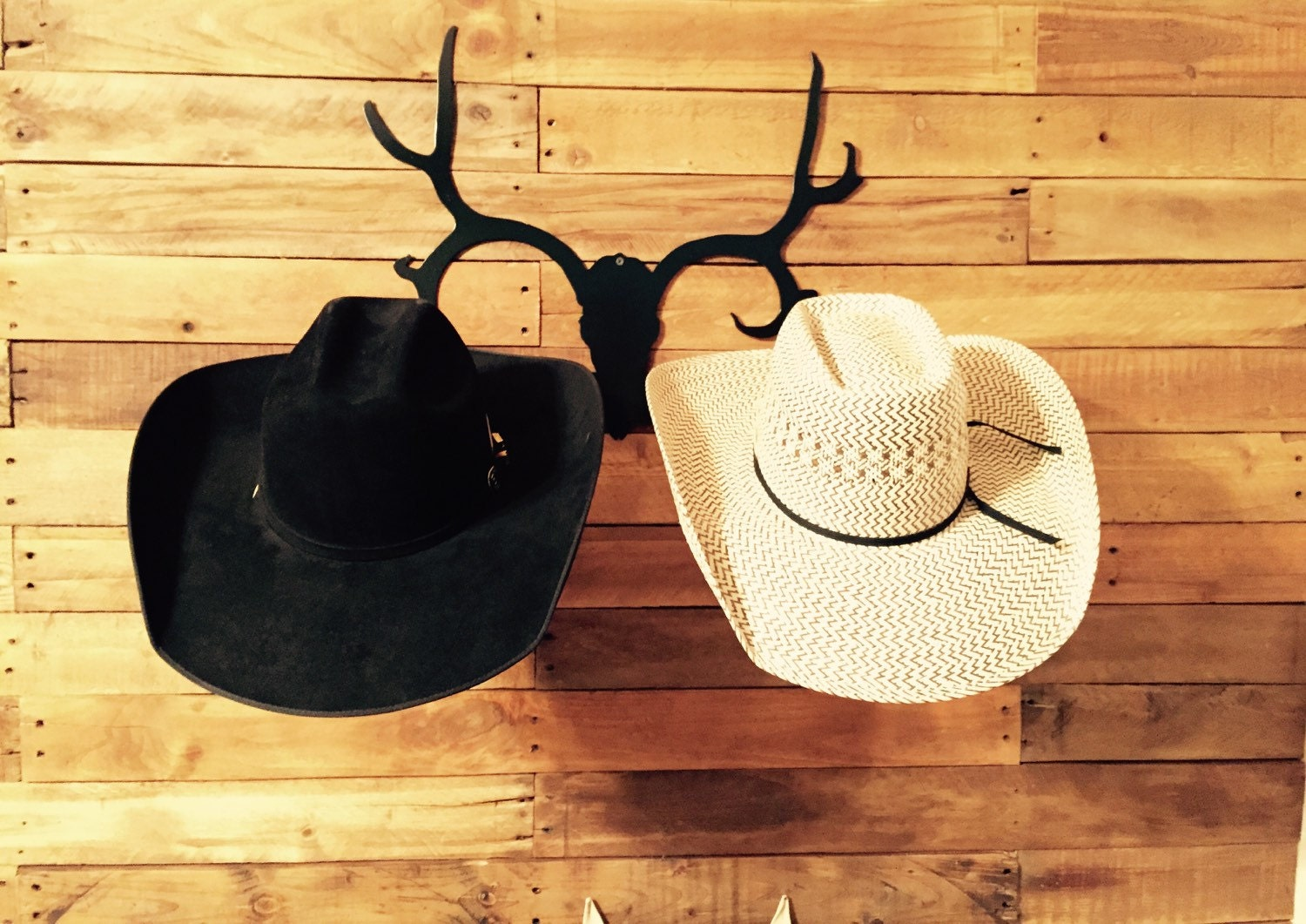 Horseshoe Cowboy Hat Rack - Lovequilts