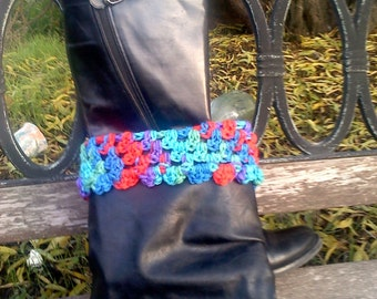 Colorful Boot Cuffs
