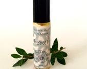 """Luxury Natural Men's Cologne, Vegan: """"Solstice I"""" Composed of Frankincense, Ginger, Vetiver, and Cedarwood Essential Oils"""