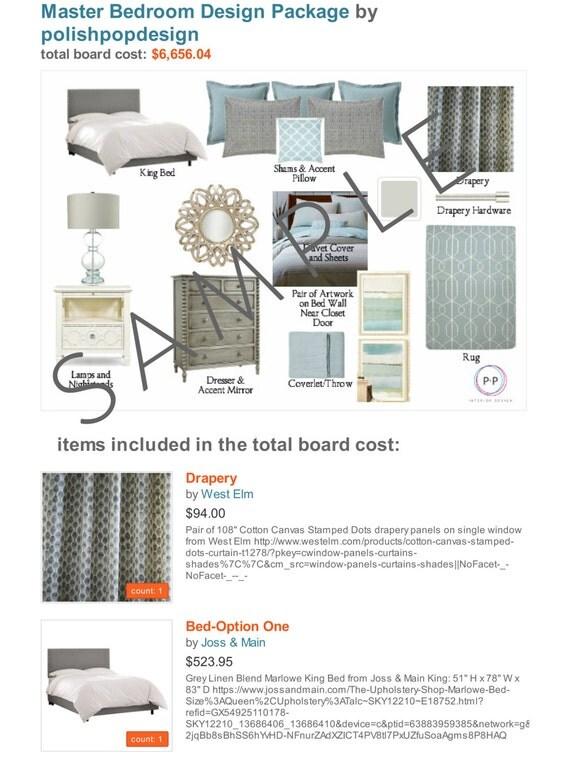 Bedroom Package Online Interior Design Service E Services Moodboard Decorating Designer