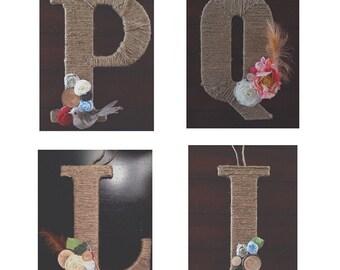 Hanging Letter