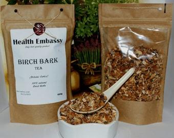 Birch Bark  ( Betulae Cortex ) - Health Embassy - Organic