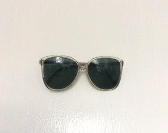 1980's Pastel Over-Sized Sunglasses