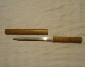 Wooden Letter Opener Schering Rela X   Japan