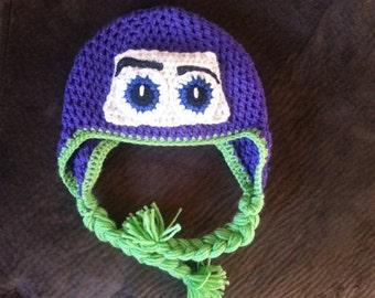 Buzz Lightyear Crochet Hat