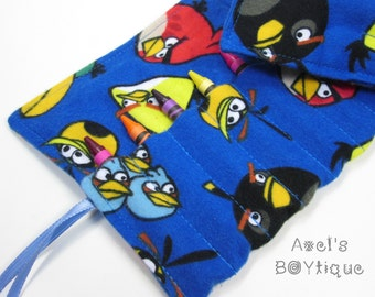 Crayon Roll - Birds Crayon Roll Caddy