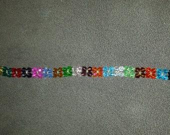 """Swarovski Crystal """"flower"""" Bracelet-1"""