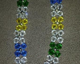 """Swarovski Crystal """"flower"""" Bracelet-3"""