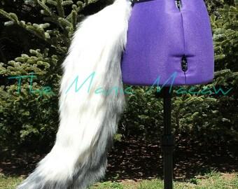 Plush Faux Fur Wolf Tail