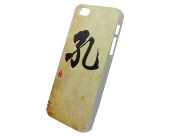 Chinese Calligraphy Surname Kong Hung Hard Case for iPhone  SE 5s 5 4s 4