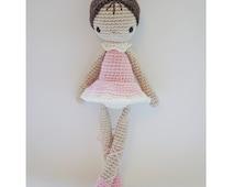 Paloma, the Ballerina - Crochet Pattern by {Amour Fou}