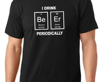 Sale i may be nerdy but only periodically t shirt sale i drink beer periodically nerdy t shirt periodic table t urtaz Images