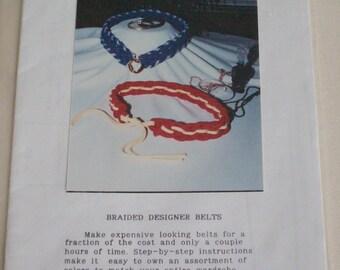 Braided Belt pattern #605B