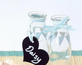 Chalkboard Heart, Wedding Chalkboard, Wedding Sign, Wedding Place Name, Mini Chalkboard, Vintage Wedding, Rustic Wedding, Place Name