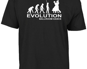 Evolution ballroom dance t-shirt