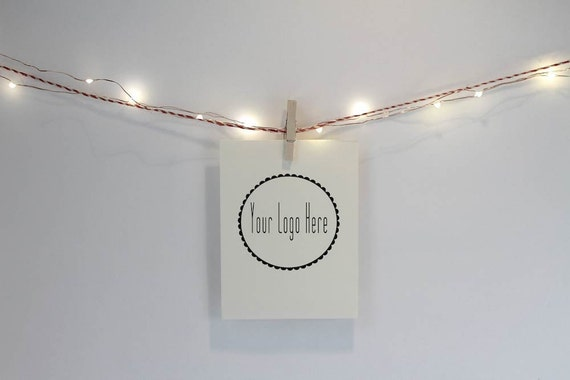 Items similar to Clothes pinned Vertical Frame on string of lights, PHOTOBOMBDIGITY STYLED ...