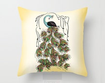 Popular Items For Peacock Pillow Cover On Etsy