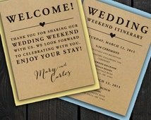 Wedding Gift Bag Notes : ... Wedding Welcome Bag Tags Notes Hotel Welcome Bags Destination Welcome