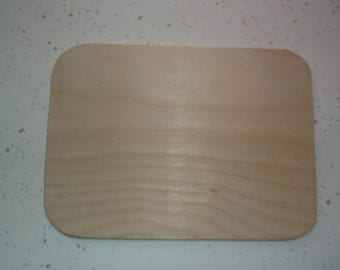 """Unfinished wooden plaques, Signs, Wood Signs, Rounded Edge Plaques  with rounded edges - 6"""" x 8"""""""