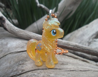 My Little Pony Friendship is Magic Crystal Chance-A-Lot (Caramal) Figure Necklace/Pendent MLP FiM