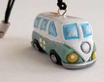 Camper Pulmino Hippie  Figli dei fiori Portachiavi hippy idea regalo hippy keychain westfalia flower child gifts regali personalizzati