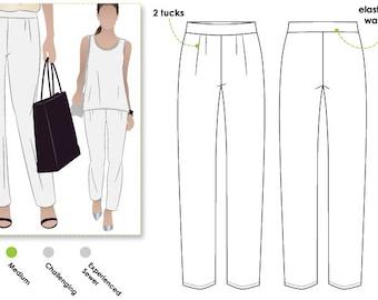 Lucinda Knit Pant - Sizes 16, 18 & 20