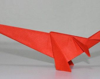 Tyrannosaurus - Dinosaur - Origami