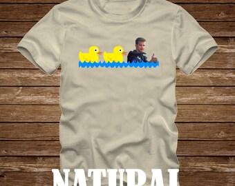 DUCK DUCK GOOSE - Top Gun Movie Tshirt Adult sizes - fun 80s Tom Cruise Maverick Goose Iceman -419