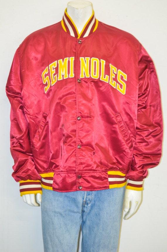 Fsu leather jacket