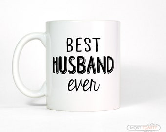 Anniversary Gift for Him | Best Husband Ever Coffee Mug Mens Mug Personalized Mens Gift Husband Gift for Husband Coffee Cup Husband Mug