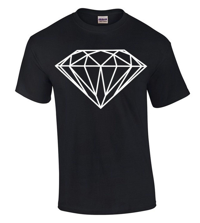 Diamond white design t shirt diamond shirt by for Diamond and silk t shirts