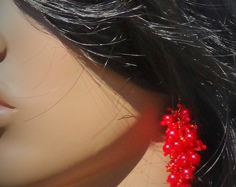 Red Berries Earrings