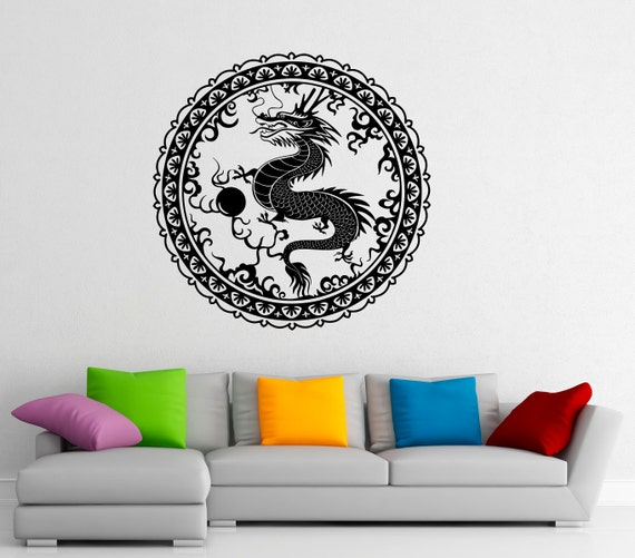 chinese dragon wall decal vinyl stickers chinese style home