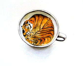 Tiger in a Teacup