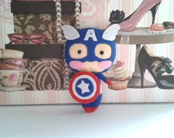 Captain America Doll Pattern