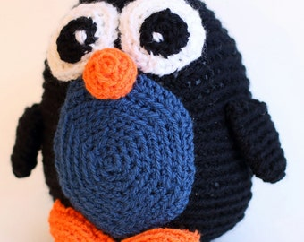popular items for penguin amigurumi on etsy. Black Bedroom Furniture Sets. Home Design Ideas