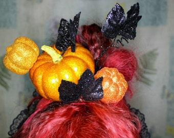Pumpkin Queen Headpiece