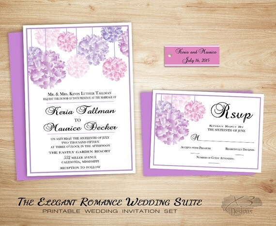 Garden Wedding Invitations: Garden Wedding Invitation Boho Backyard Wedding Invitation