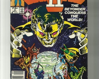 Marvel comics/ Secret Wars 2/ The Beyonder Conquers the World!/ Vol.1,No.3