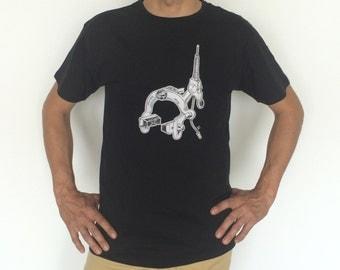 T-shirt illustration brake / bike brake tee